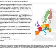 NREAPs and progress reports Data Portal