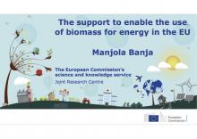 The support to enable the use of biomass for energy in the EU
