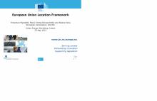 Presentation given at the Urban Energy Workshop, Lisbon, 25 May 2015