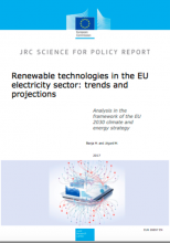 Renewable technologies in the EU electricity sector: trends and projections